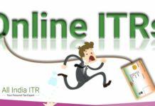 Aadhaar linking with Online ITRs