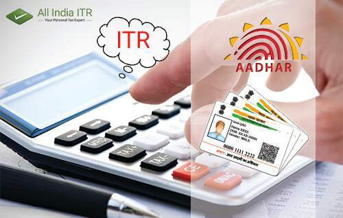 Aadhar is Mandatory to File IT Returns