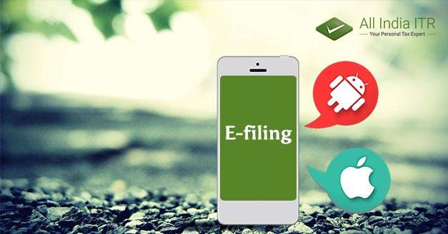 Advantage of e-filing ITR through app