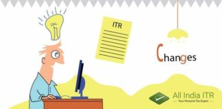 recent changes in ITR Forms