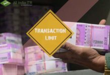 Cash Transaction Limit Lowered