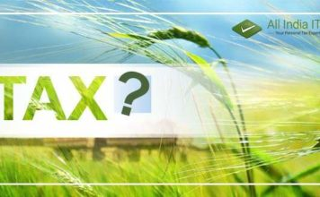 debate over tax on agricultural income