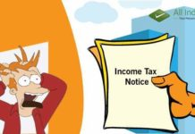 got an income tax notice