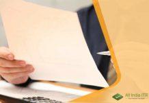 ITR Form-1 (Sahaj) for Filing Income Tax