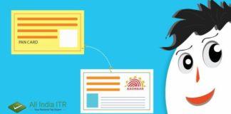 Link PAN to Aadhar Card