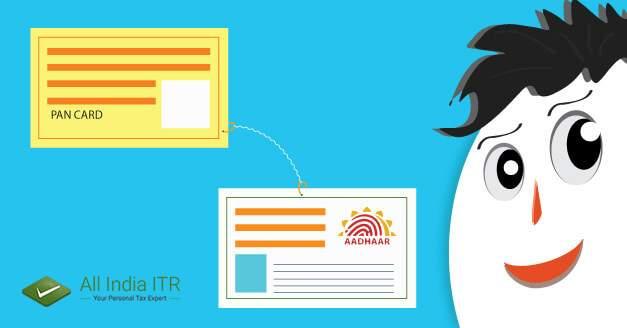 Linking PAN to Aadhar Card