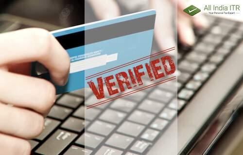 Verification Methods for Income Tax Return Filing