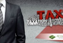 Income Taxes are Due on Professional Services
