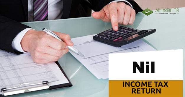 What is nil income tax return