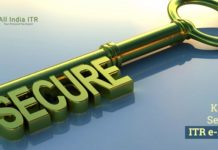 Keys to Secured ITR e-Filing