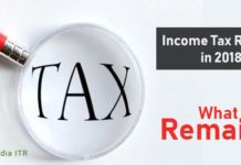 Income Tax Reforms in 2018