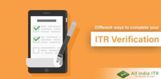 ITR verification
