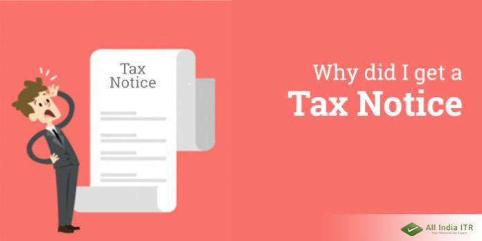Tax notice