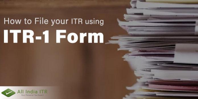 itr 1 form