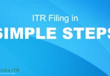 simple steps ITR
