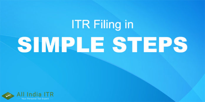 simple steps ITR