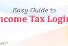 Income Tax Login