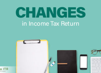 Changes in Income Tax Return