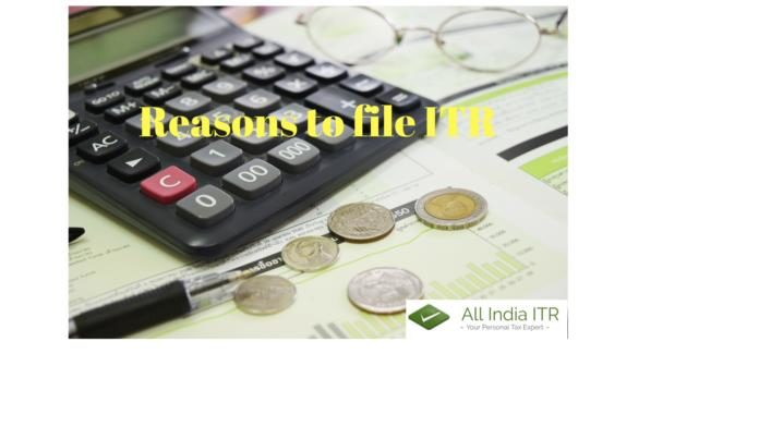 reasons to file itr