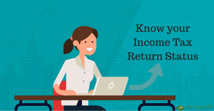 Know your Income Tax Return Status