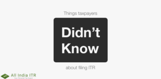 Things taxpayers didn't know about filing ITR
