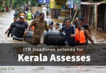 ITR Deadlines extends for Kerala Assesses