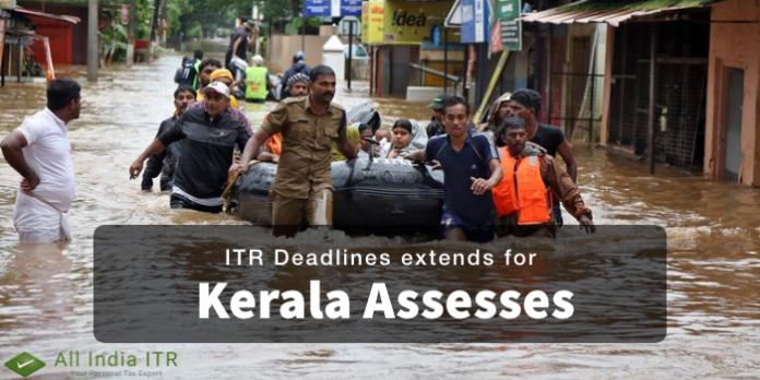 ITR Deadlines extends for Kerala Assesses
