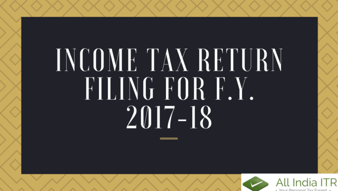 What a taxpayer must keep in mind while filing Income Tax Return