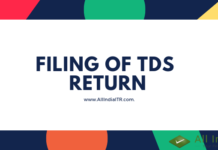 Filing of TDS Return