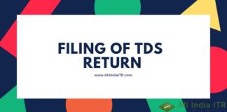 Filing of TDS Return