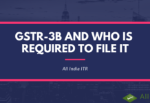 GSTR-3B and who is required to file it