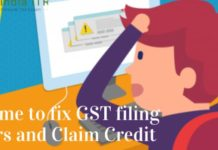 its time to fix gst filing