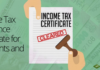 Income Tax Clearance Certificate for Residents and NRIs