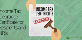 income tax clearance certificate