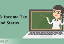 income tax refund Stauts