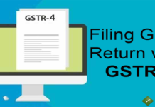 filing gst return with gstr 4