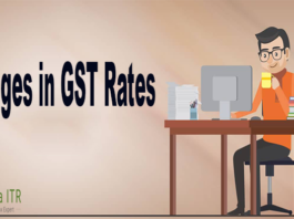 Changes in GST rates after GST Council meeting