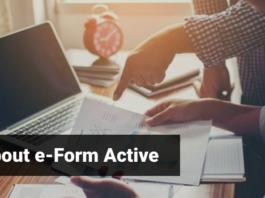 E form Active
