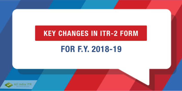 changes in itr form 2