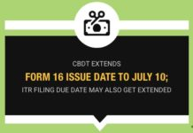 CBDT extends Form 16 issue date