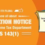 intimation notice