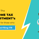 Income tax departments-skipped filling itr