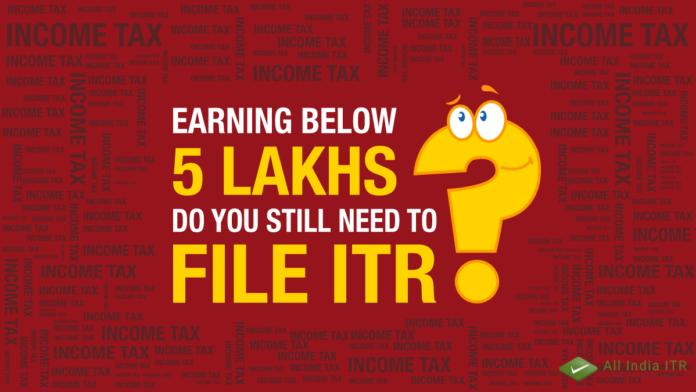 Filling ITR
