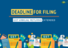 GST return filing deadline