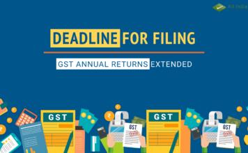 GST return filing deadline