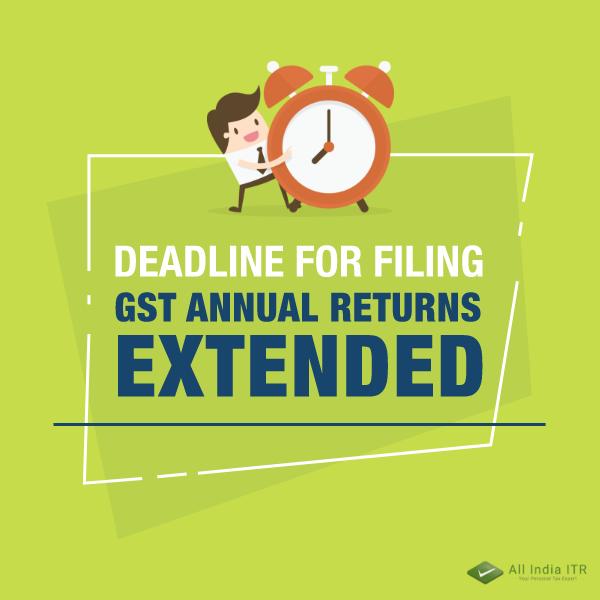 GST annual returns