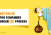 GST Relief for Companies under IBC Process