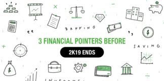 Three financial pointers to keep in mind before 2k19 ends