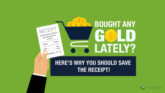 Bought any gold lately_ Here's why you should save the receipt!
