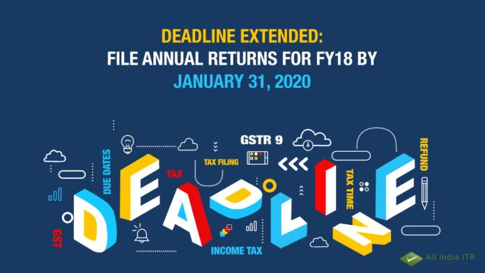 Filing annual ITR return